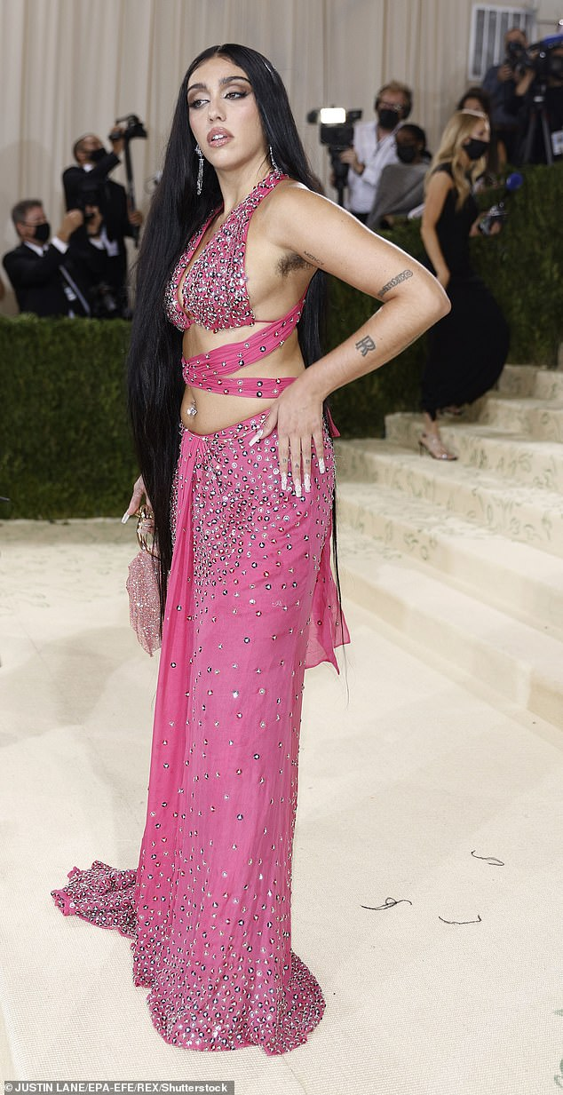 Candid:The model, 24, took to Instagram on Friday and fired back at trolls who appeared to make comments about her recent appearance at the Met Gala where she showed off her armpit hair