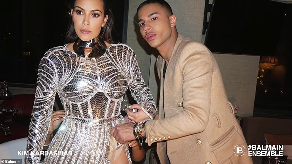 Close friends: Kim and Olivier are close friends and often collaborate on luxury projects together
