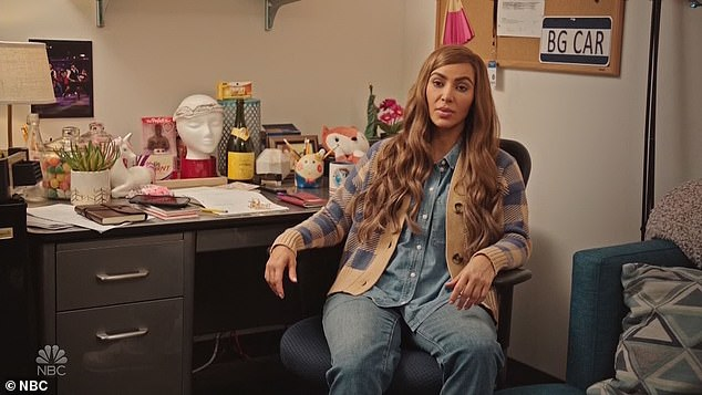 Kim who?In the sketch the SKIMS founder got a chance to live a much quieter existence for 24 hours as she and Bryant harness magic to do a Freaky Friday-like life swap