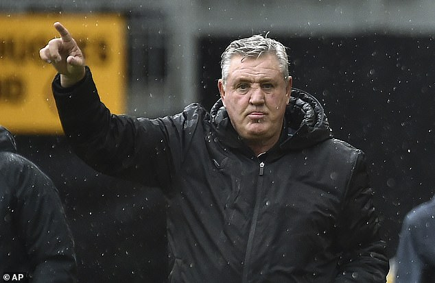 Bruce, 60, has been in charge of the Magpies since the start of the 2019-20 season