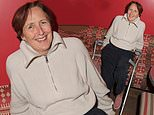 Fiona Shaw sparks concern as she arrives on crutches for a screening