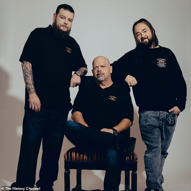 Still going strong! Catch more of Chum and the gang from Gold & Silver Pawn Shop in the 19th season of Pawn Stars, which airs Saturdays on the History Channel (pictured in 2020)