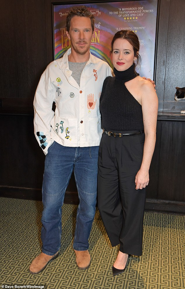 , Claire Foy cuts a chic figure as she larks around with co-star James McAvoy, The Today News USA