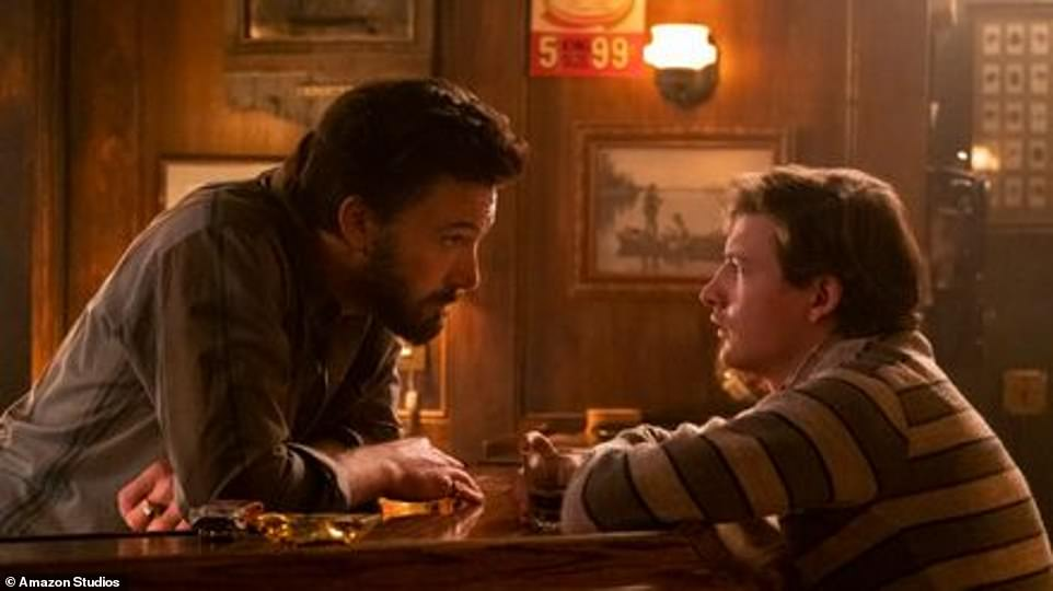 Coming soon: The Tender Bar was the leading man's second film collaboration with Ben Affleck, after his 2012 directorial effort Argo, which George produced