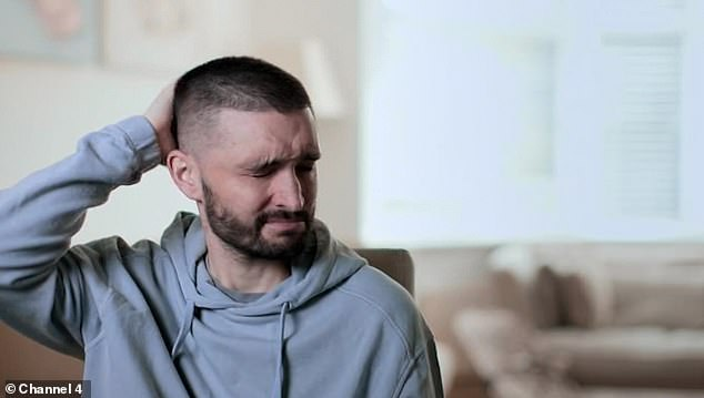 Emotional: The Wanted singer Tom Parker bared his soul on Sunday night in his Channel 4 documentary Inside My Head