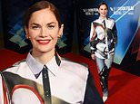 Ruth Wilson shows off her style credentials in satin shirt at the True Things premiere