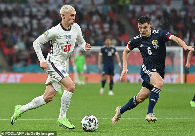Foden even copied Gazza's bleached hairstyle for England's incredible Euro 2020 run