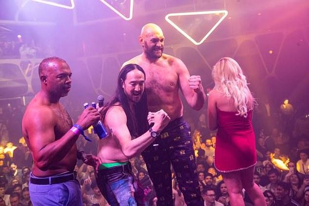, Tyson Fury swigs £800-a-bottle vodka as he parties until 3am in Las Vegas, The Today News USA
