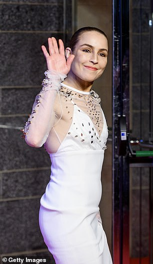 Wow: Noomi looked elegant at the glamorous event
