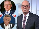 David Koch and Barrie Cassidy fall out over Sunrise interview with Scott Morrison