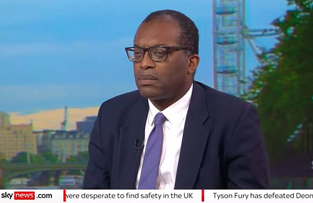 Business Secretary Kwasi Kwarteng has been accused of 'making things up' in an extraordinary briefing war after claiming he was in talks with the Treasury over high energy prices