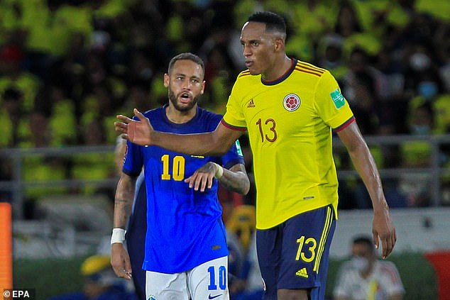 Colombia held Brazil to a 0-0 draw in an engrossing game on Sunday evening