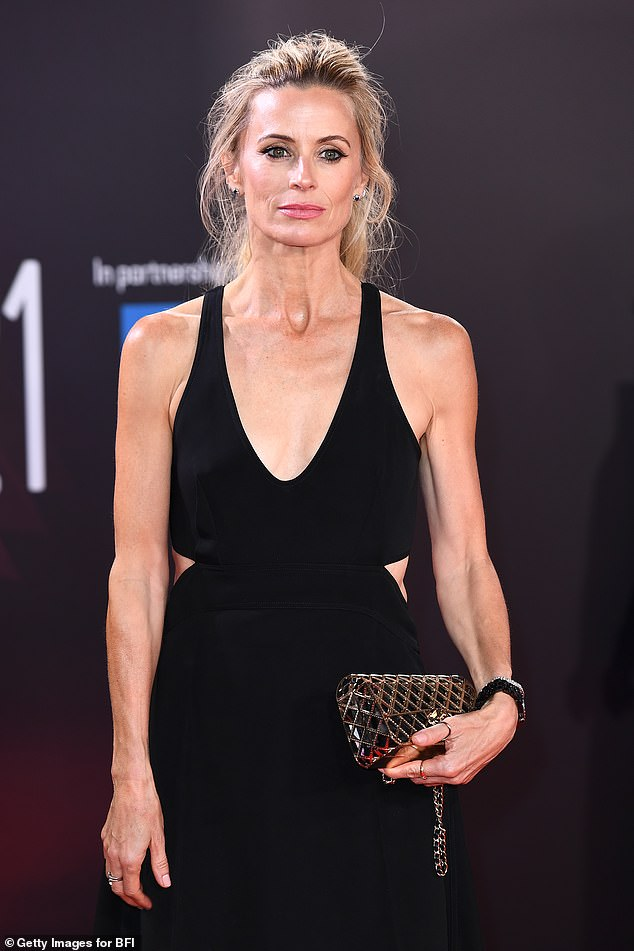 Wow!  The 49-year-old model caught her attention during the 65th BFI London Film Festival at the Royal Festival Hall.