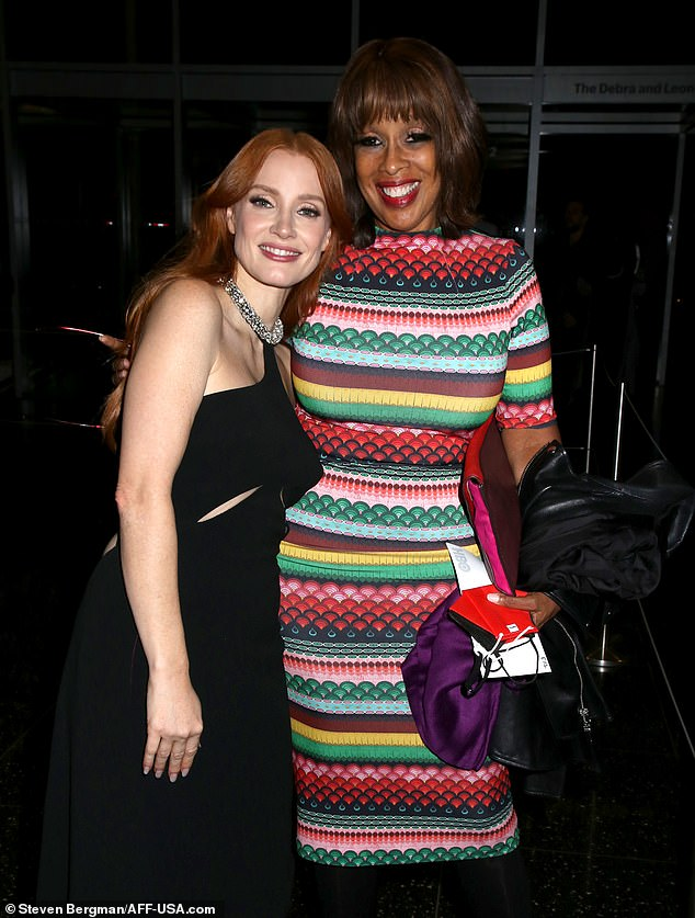 Star-studded event: Gayle King was also in attendance