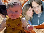 Ashley Tisdale takes baby Jupiter to first pumpkin patch after date with husband Christopher French