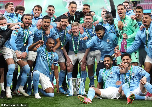 EFL Carabao Cup holders could be the venue for the maneuvers - Man City photo