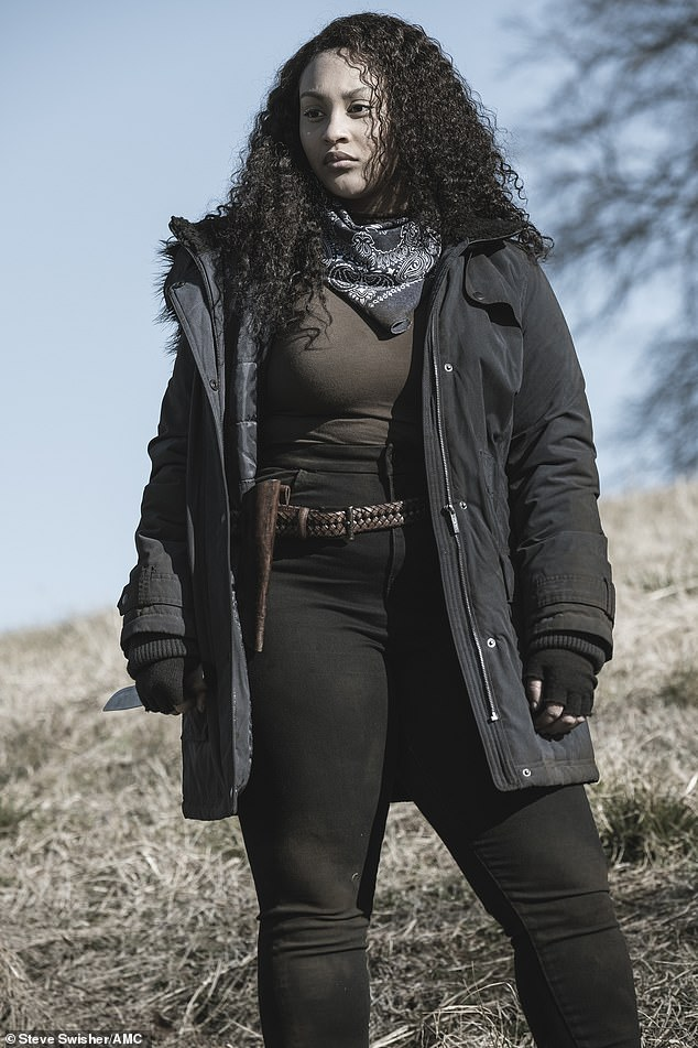 Separated sister:The episode titled 'Foothold' started with Iris [Aliyah Royale] pulling her knife out of a CRM trooper that she had just killed