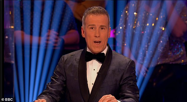 Step back: Strictly Come Dancing star Anton Du Beke 'could relinquish his place on the judging panel' should BBC bosses decide to reinstate Bruno Tonioli for the next series