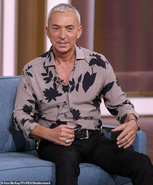Familiar face: But sources claim he may well return to the dance floor if the flamboyant Tonioli - who was unable to participate in the current series due to COVID related travel restrictions - is recalled in 2022