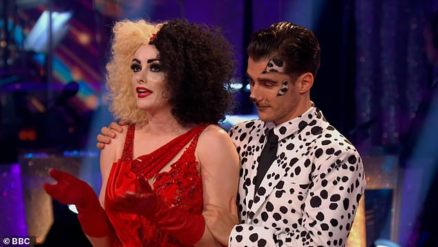 Farewell:On Sunday evening Katie McGlynn and her professional dance partner Gorka Marquez were the second couple to be eliminated from the show