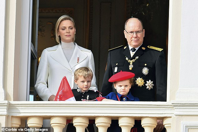Princess Charlene shares six-year-old twins, Prince Jacques and Princess Gabriella, whom she gave birth to Prince Albert in 2014.