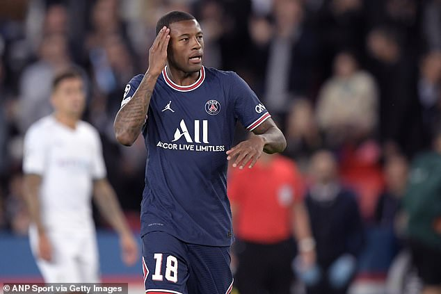 Ginny Wijnaldum has admitted she is 'not completely happy' after just four months of joining PSG