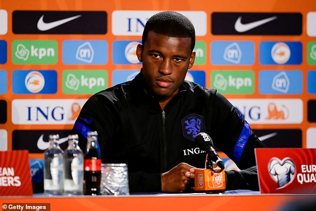 Wijnaldum is expected to play in Holland's World Cup qualifier against Gibraltar on Monday