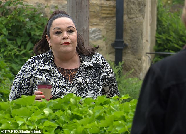 The Verdict: Lisa (pictured on Emerdale) also touched on the fact that she feels 'justified' for continuing to grieve nearly a decade after her mother's tragic passing