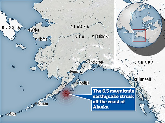 , Earthquake of magnitude 6.5 strikes Alaska Peninsula two months after largest US quake in 50 years, The Today News USA