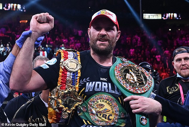 Tyson Fury is reluctant to discuss his place in the heavyweight pantheon of greats