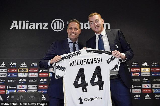 Juventus midfielder Dejan Kulusevski was signed last year but is already up for sale