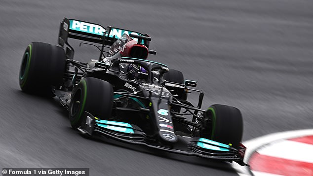 Mercedes Mann's fifth-place finish means he is behind Max Verstappen in the race for the F1 title
