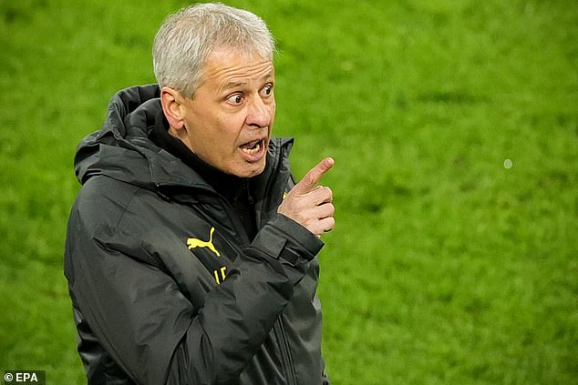 Lucien Favre's last job was at Borussia Dortmund though he came close to taking over at Crystal Palace back in the summer