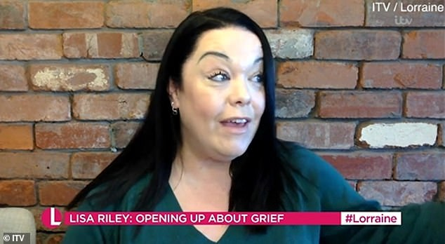 Heartbreaking: Speaking on Lorraine, the 45-year-old actress detailed her ongoing struggles as she announced she was starting a podcast about grief