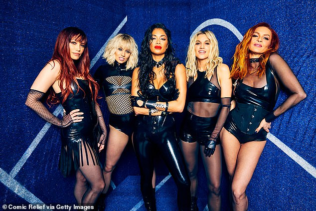 Girl power: Ashley and Kimberly rose to fame as members of The Pussycat Dolls alongside Nicole Scherzinger (pictured in 2020)