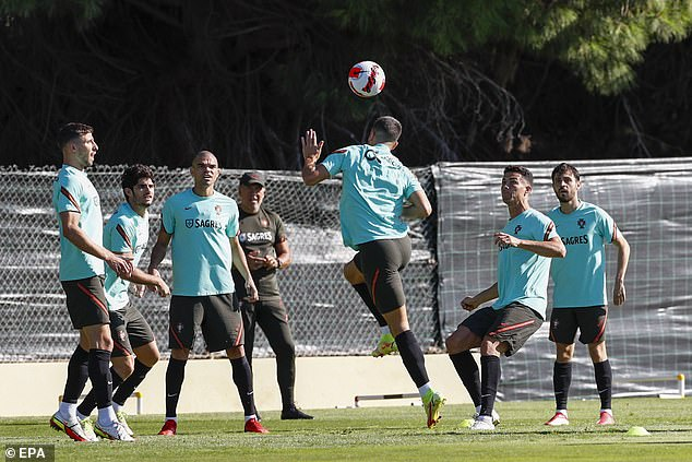Portugal prepare for World Cup qualifying match against Luxembourg on Tuesday