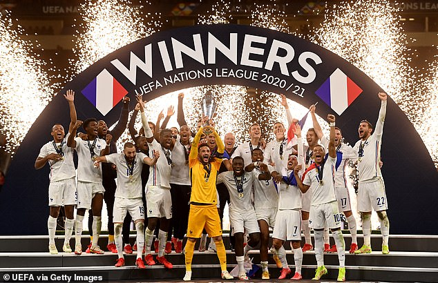 France were crowned UEFA Nations League 2020-21 champions after beating Spain on Sunday