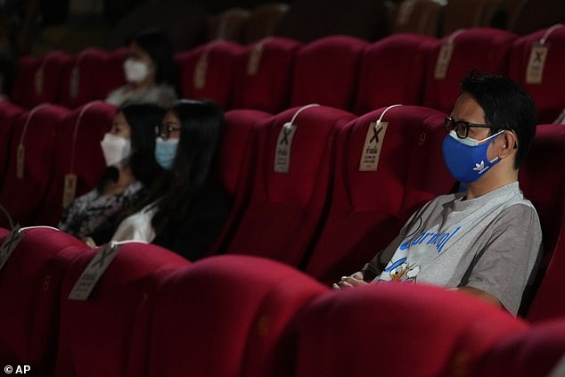 However, the film brought in $35 million in the UK – which has about five times fewer the people and no requirements for guests to be vaccinated or wear masks as is the case in American theaters