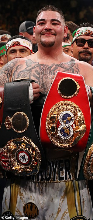 Andy Ruiz was the unified champion before losing to Anthony Joshua