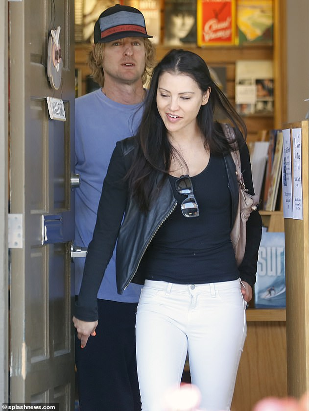 Relaxed romance: Varunie with Owen in June 2014 in Malibu after having coffee