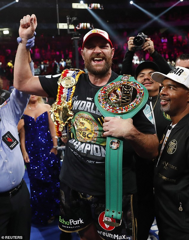 White is mandatory challenger for WBC belt and says Fury should be given 'no choice'