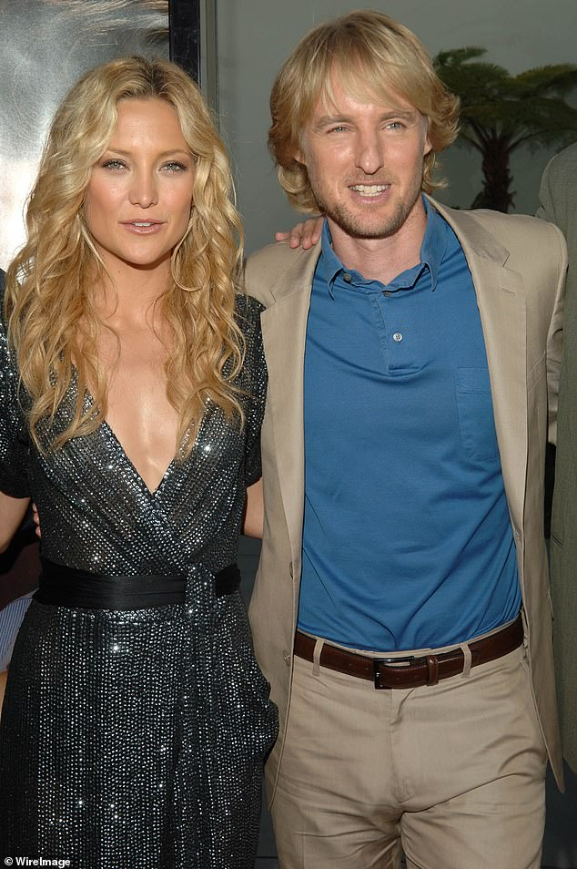 His ex: the actor was dating Hollywood star Kate Hudson;  Together they worked on the movie Toi, moi et Dupree