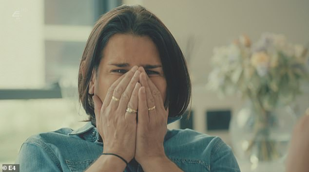 Devastated:Made In Chelsea returned for its 22nd season on Monday night and left viewers 'heartbroken' as Ollie Locke and his husband Gareth were filmed hearing the devastating news that their surrogate had failed to get pregnant