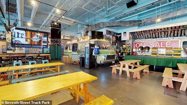 News outlets have identified the bar as the Seventh Street Truck Park
