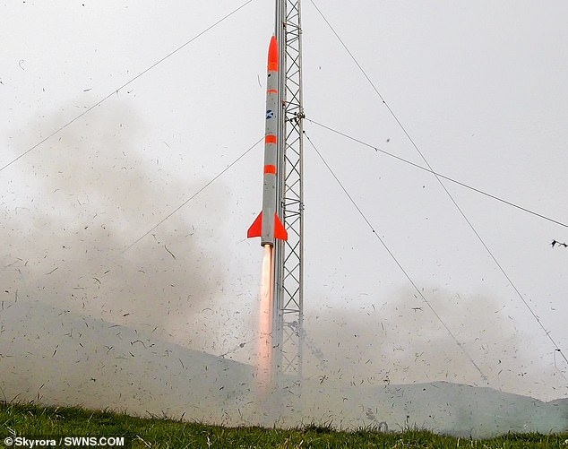 In June the launch of the two-metre Skylark Nano rocket, which reached an altitude of six kilometers above the Shetland mainland, took place.