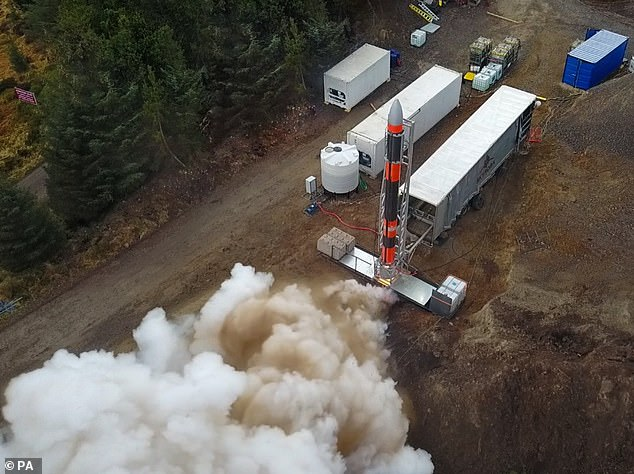 In May last year, Skyrora completed a full ground stable fire test with the Skylark-L at the Kildemory estate near Alnes.