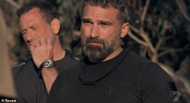 Pass: After taking some time to deliberate, the show's DS (directing staff) ultimately decided that only Sam had what it took to make it as an SAS soldier. Pictured, chief instructor Ant Middleton