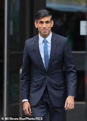 Chancellor Rishi Sunak advised against the extra funds