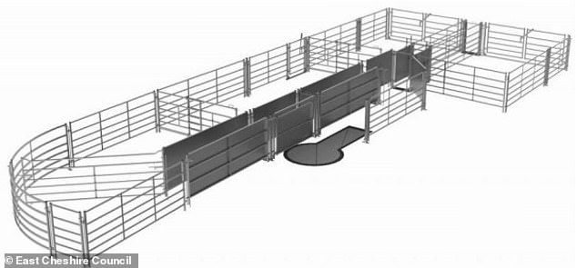Brighouse Farms submitted plans to erect an 1800ft outbuilding to house hundreds of store lambs 'during the winter months'