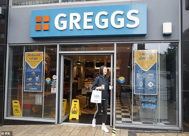Greggs, which has more than 2,100 stores, said it is 'not immune' to the HGV driver shortage and is struggling to find enough staff for some of its stores.